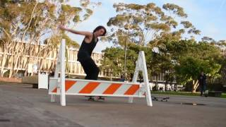 skateboarding at ucsd   nikon d3400 video test