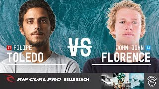 John John Florence Takes Down Filipe Toledo to Ring the Bell in 2019