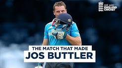 The Match That Made Jos Buttler A Star Is Born With Blistering Century At Lords Eng v SL 2014