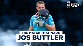 The Match That Made Jos Buttler | A Star Is Born With Blistering Century At Lord's | Eng v SL 2014