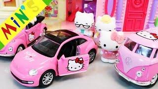 Helo Kitty Toys & Helo Kitty House   Nhạc Thiếu Nhi Tiếng Anh Vui Nhộn   Đồ Chơi Helo Kiity