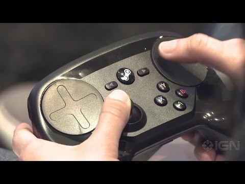 Valve's Steam Controller Isn't For Console Gamers - GDC 2015