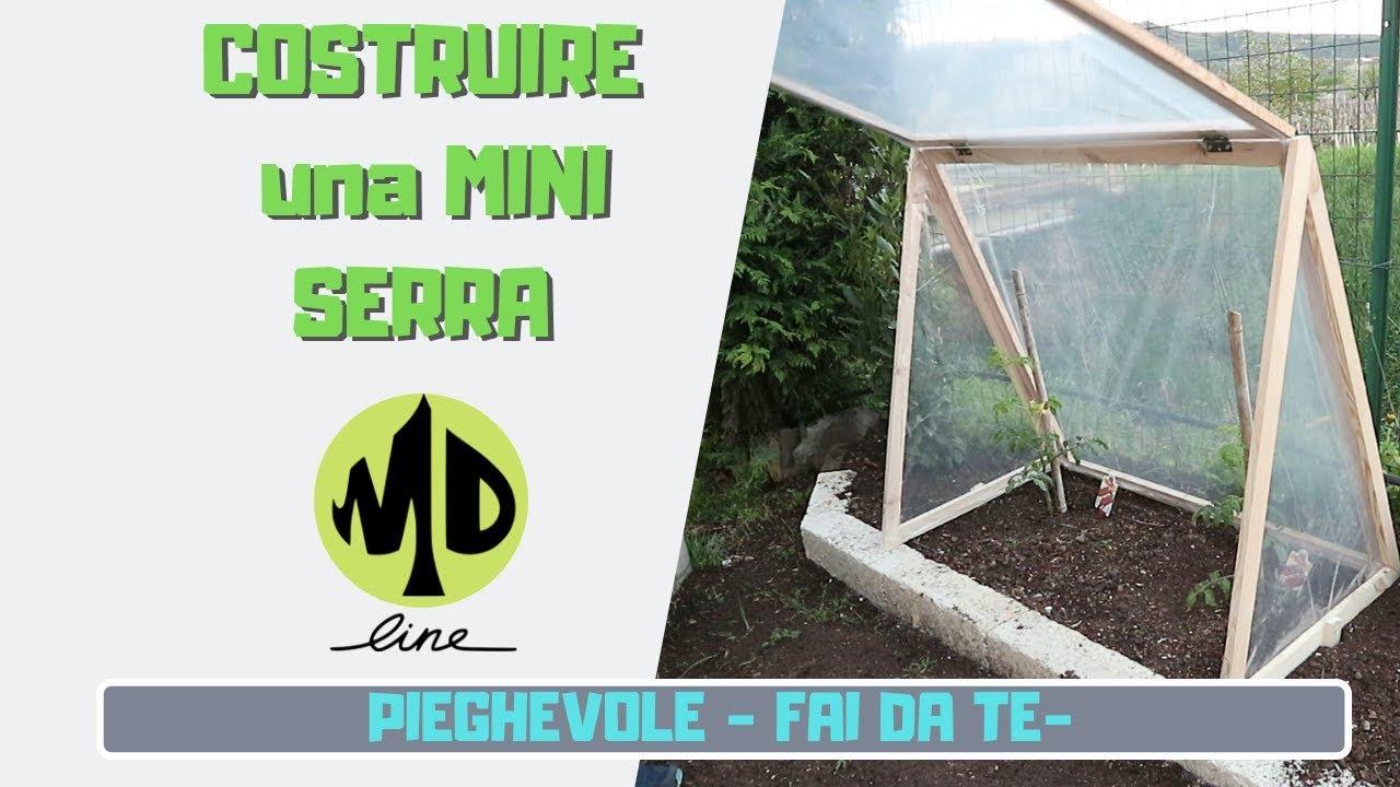 Costruire Una Mini Serra Riscaldata costruzione mini serra pieghevole - diy fai da te -