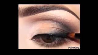 Как правильно сделать макияж для кареглазых. Видеоурок.