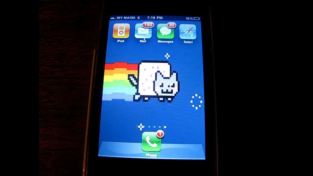 Cute Cat Live Wallpaper For Android And Nyan