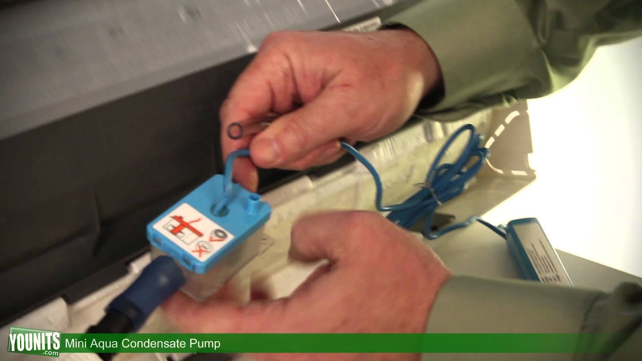 Video Guide for How to Install the Mini Aqua Condensate Pump ...