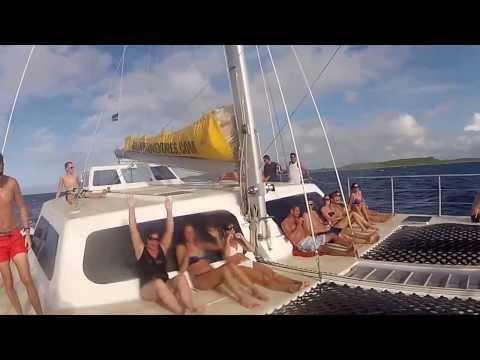Boat trip to KLEIN CURAÇAO 2013