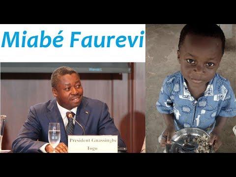 Un enfant de 4 ans s'adresse à  Faure Gnassingbé sur la situation socio-économique des Togolais