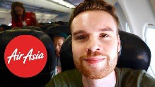 Flying Kuala Lumpur to Manila with AirAsia (Flight Review)