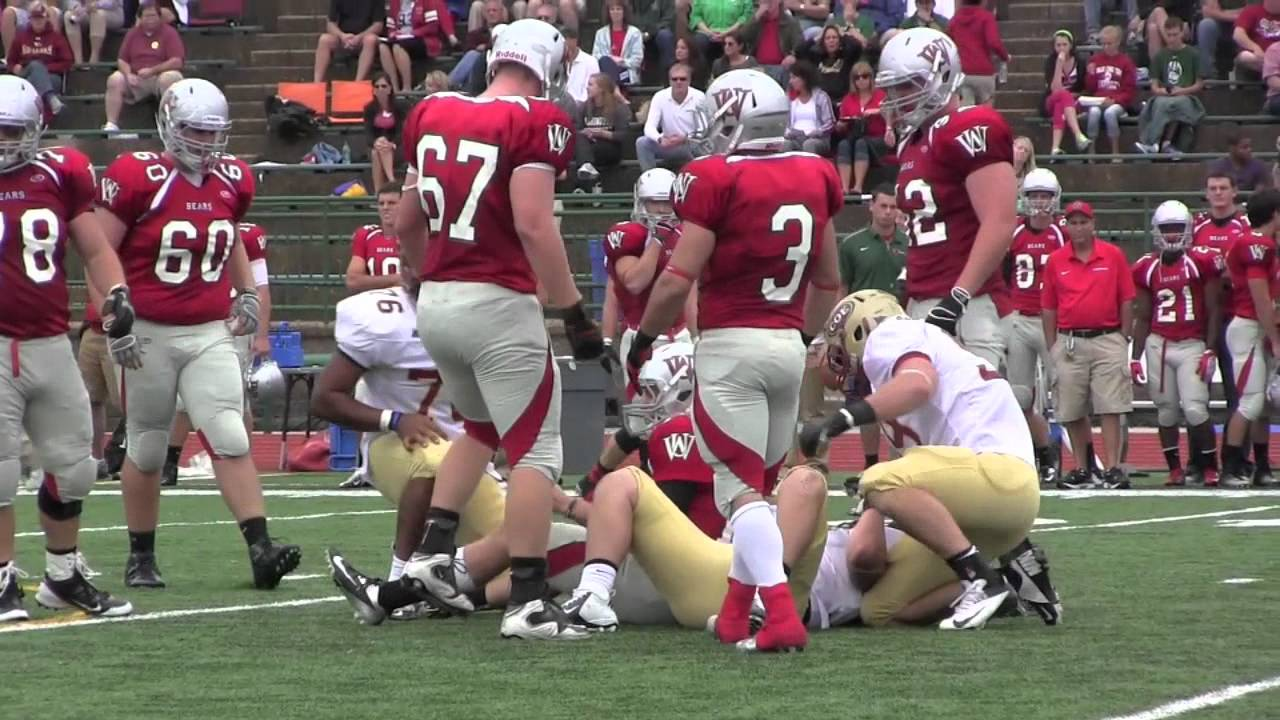 Coe College Football at Washington University - YouTube