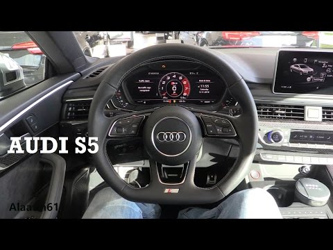 2017 Audi S5 - interior Review