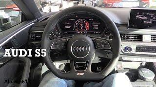 2017 Audi S5 - interior Review