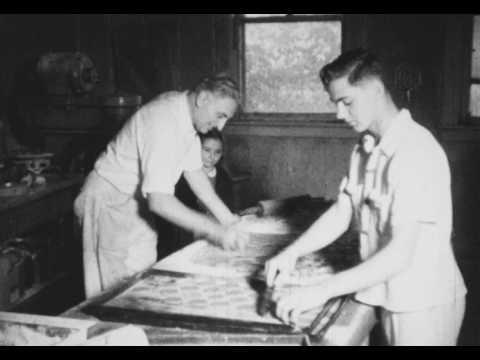 Fred Lystra Bakery Boonton NJ 1940s