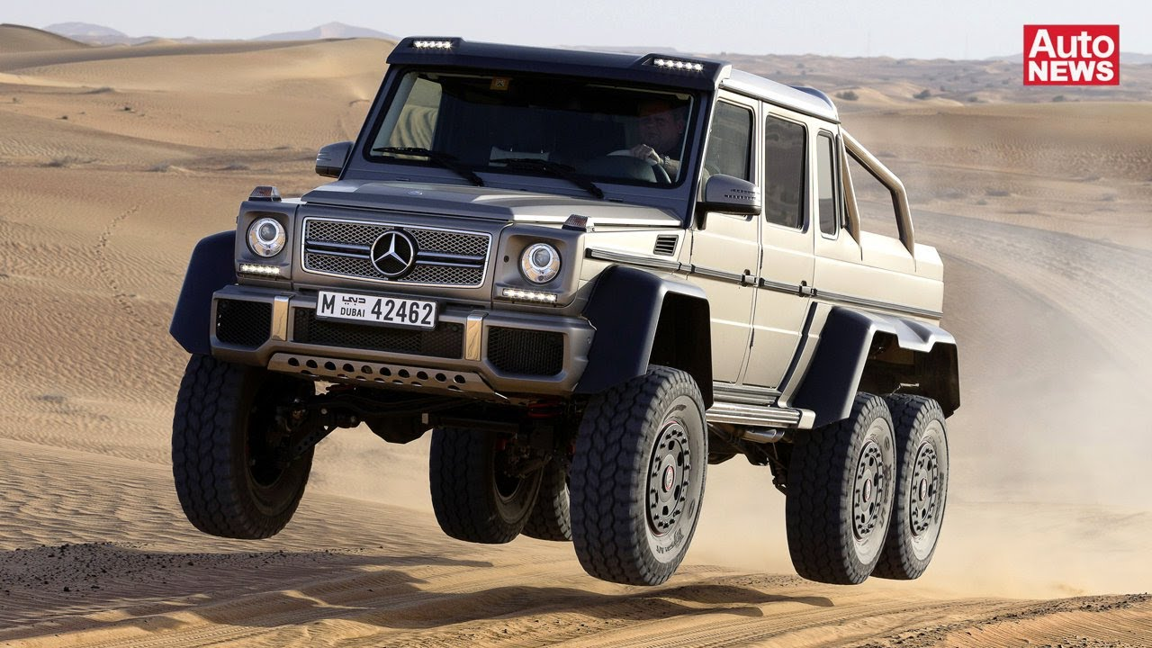 mercedes g 63 amg 6x6 luxus f u00fcr scheichs youtube