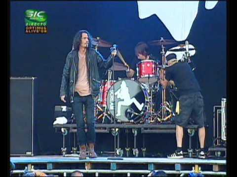 Chris Cornell - Part of Me + Time @ Optimus Alive 2009 (Lisbon, Portugal)