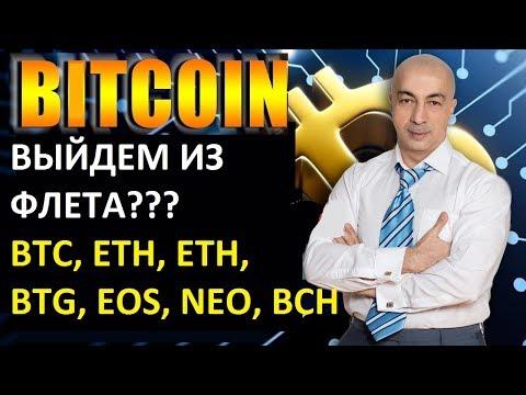 БИТКОИН! ОБЗОР BTC ETH ETC LTC EOS NEO  НА 21.10.18