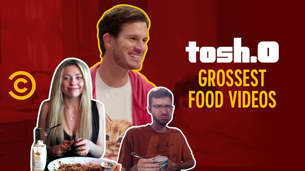 Grossest Food Challenges - Tosh.0