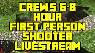 Crew will be doing a 6-8 Hour First Person Shooter Livestream this Saturday Sept 7th(Livestream Countdown Timer = http://hillsoftware.com/livestream.html ▻Crew Twitch Page = http://twitch.tv/minecraftcrew So we will be live streaming for 6-8 ..., 2013-09-06T20:30:09.000Z)