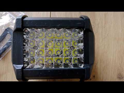 Сверхъяркая светодиодная фара-прожектор 200W 12V-24V. Купить. Заказать.