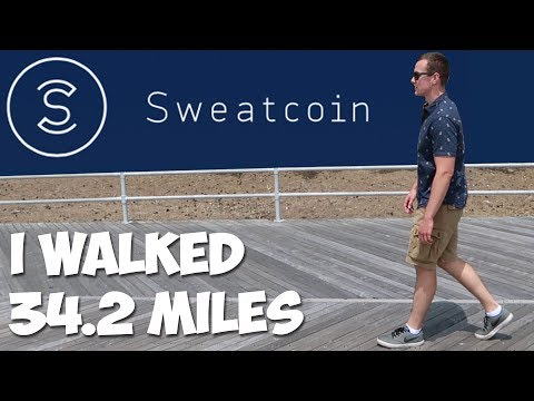SWEATCOIN: Can You REALLY Get Paid To Walk?