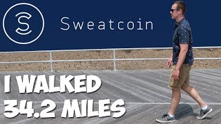 SWEATCOIN: Can You REALLY Get Paid To Walk? screenshot 1