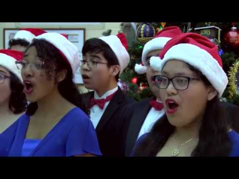 DAYTIME AT NINE: Lopez Early College High School Upbeat