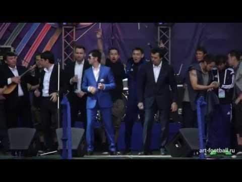 Концерт артистов Казахстана | Concert of Kazakhstan artists | Art-football 2014