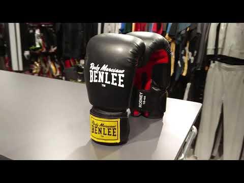 Γάντια πυγμαχίας BenLee Rodney - Black Red d279f2c83d4