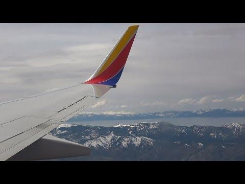 (4K) Trip Report - Reno to Las Vegas - Southwest 1971