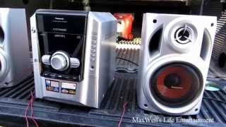 Müll abgeholt stereo 3 panasonic sa-ak 240 maxwellsworld