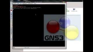 creacion de interfaz loopback GNS3  opensuse linux
