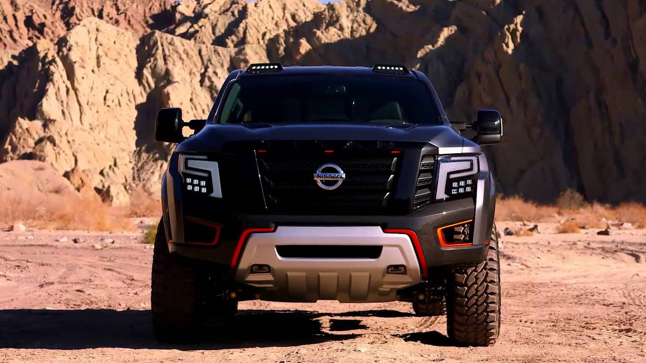 Nissan Titan Warrior Concept Video Debut Youtube