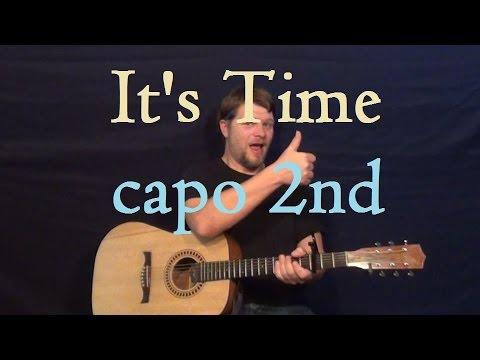 It's Time (Imagine Dragons) Easy Guitar Lesson How to Play Tutorial Easy Strum Chords