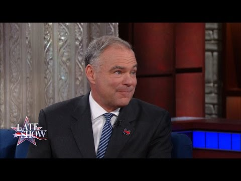 Tim Kaine Recalls that Fateful Call from Hillary Clinton