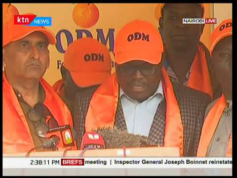 ODM Party makes a declaration after Harambee House Deal