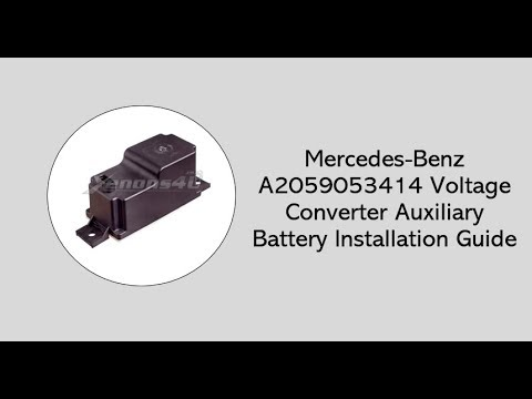 Mercedes-Benz Auxiliary Battery Malfunction Explained