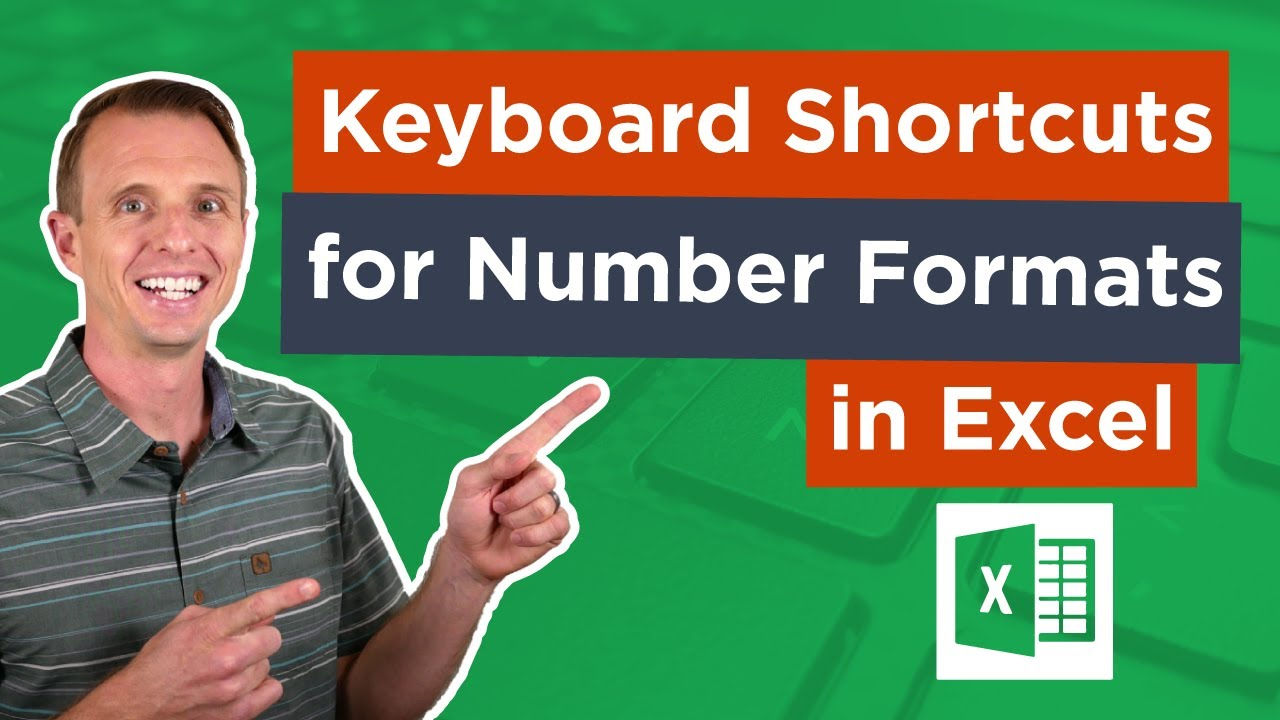 Excel Keyboard Shortcuts for Number Formats - Excel Campus