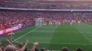 Arsenal 2 - 1 Crystal Palace