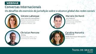"""Conversas Internacionais """"Desafios do exercício da jurisdição sobre o alcance global das redes"""""""