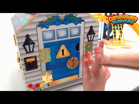 Thumbnail: Dollhouse for Kids - Best Toy Learning Video for Toddlers - Cute Kid Genevieve - Kids Learning Video