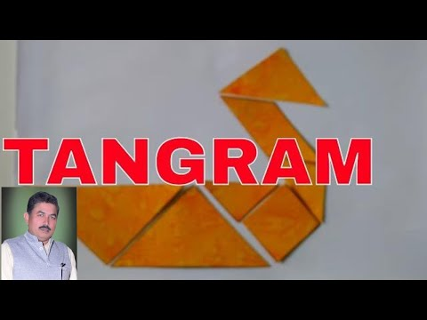 How To Make Tangram Seven Shapes/pieces