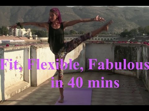 Flawless in 40, Rockin Body, Calm Mind, Peaceful Soul Home Workout- HIIT Cardio Abs Yoga- Magic