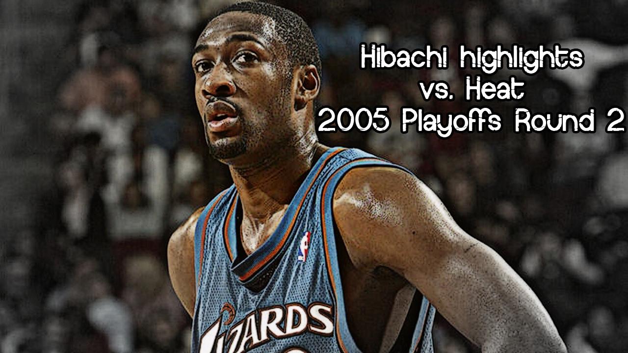 Gilbert Arenas 28 pts   5 ast (2005 NBA Playoffs R2G2 - Washington Wizards  vs. Miami Heat) e4149390c