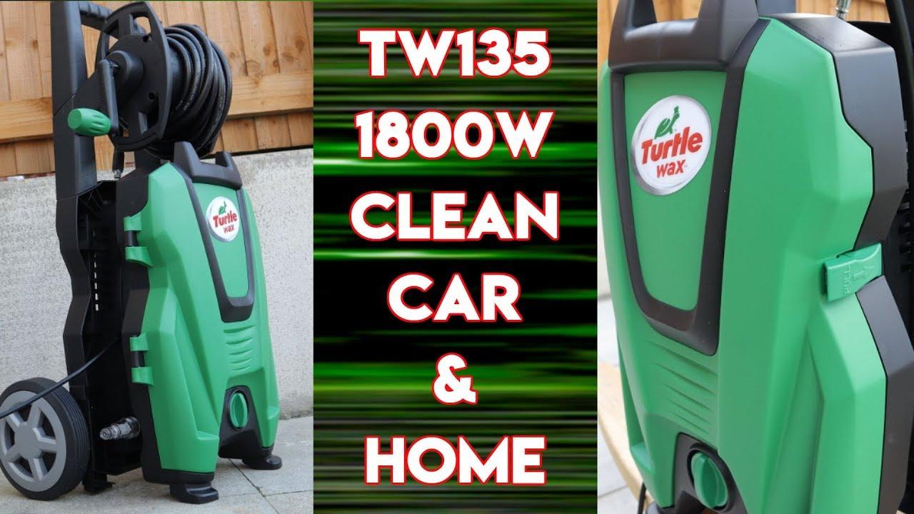 Turtle Wax TW135 1800 W 135 bar haute pression Jet Rondelle Puissance lance Détergent