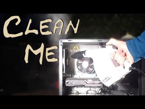 How To - Clean your Desktop Computer - The Easy Way