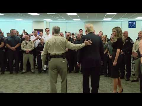 Remarks by President Trump after visiting the Las Vegas Metropolitan Police Department