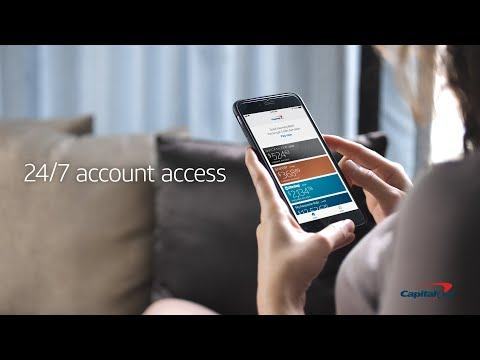 Self-servicing Your Capital One Account With Mobile & Online Banking