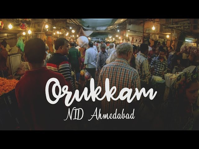 Orukkam | National Institute of Design | Onam Preparations 2018 | NID Ahmedabad | GoPro project