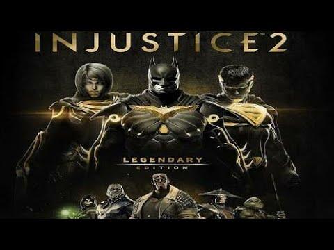 Injustice 2 Ultimate Edition, JOGANDO COM OS PERSONAGENS DO FIGHTER PACK 1 e 2.