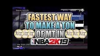NBA2K19 My Team: How To Make MT Fast + Best Budget Cards!
